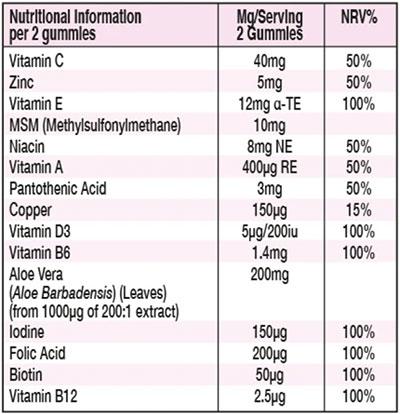 Starpowa Ingredients